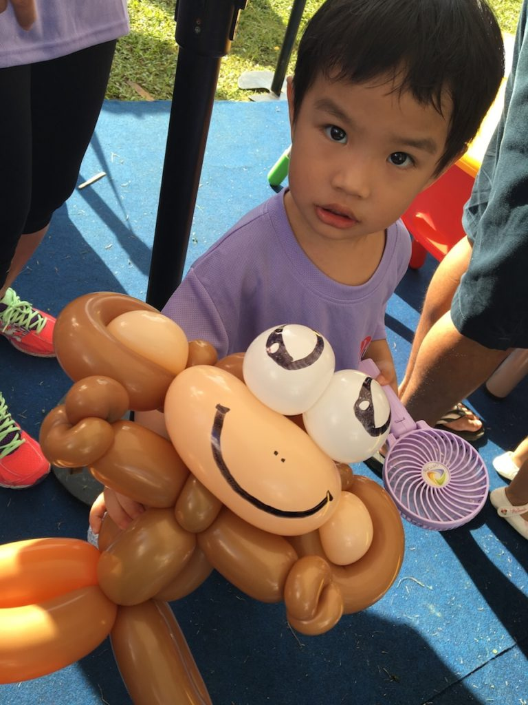 Balloon Monkey Sculpture