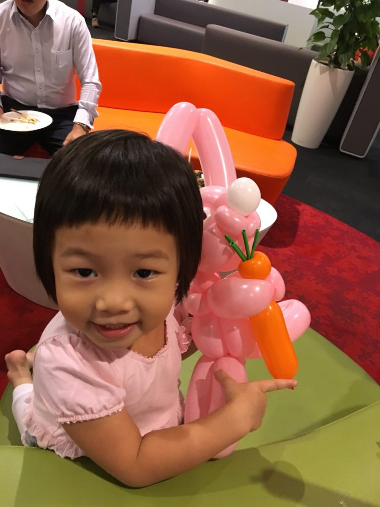 Balloon Pink Rabbit Sculpture