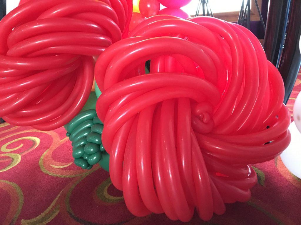 Big Balloon Roses Singapore