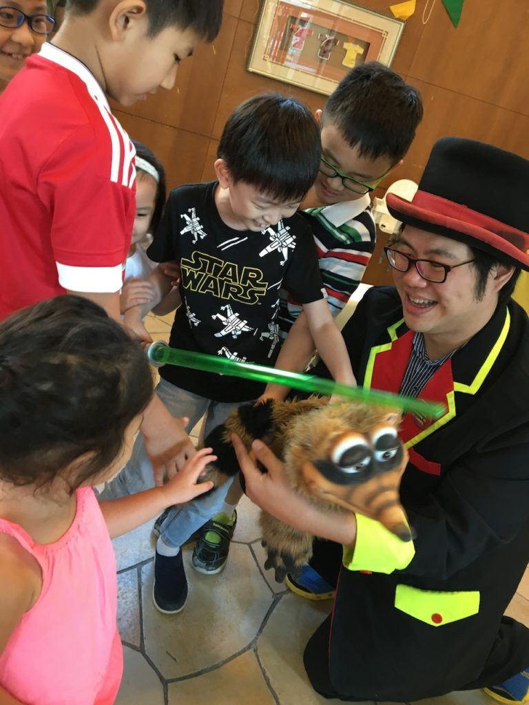 Kids Magician for birthday party