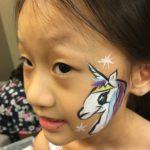 Unicorn Face Painting Singapore