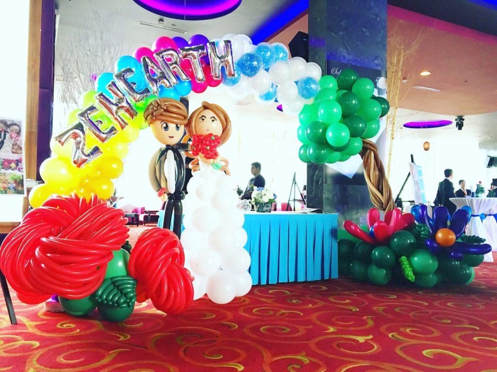Wedding Balloon Arch Decorations