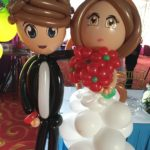Wedding Couple Balloon Sculpture Singapore
