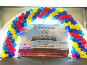 Balloon Arch Backdrop Singapore