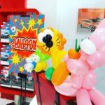 Rabbit and Lion Balloon Sculpture