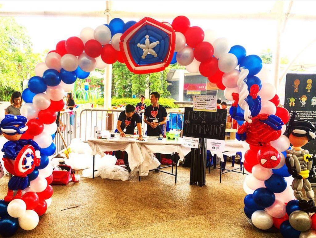superhero-balloon-arch-singapore