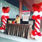 Balloon Heart Pillars Singapore