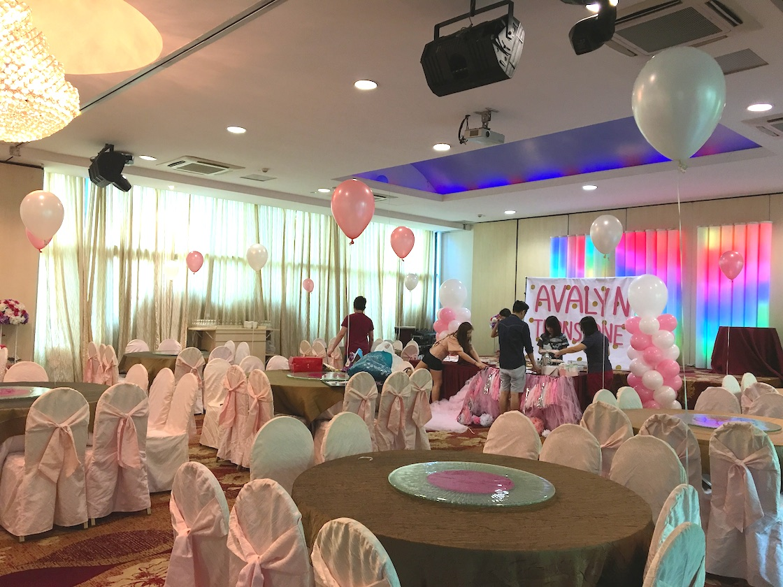 Helium balloon birthday party decoration that balloons for Helium balloon decoration