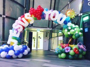 Singapore Church Balloon Arch