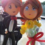 Wedding Balloon Couple Sculpture