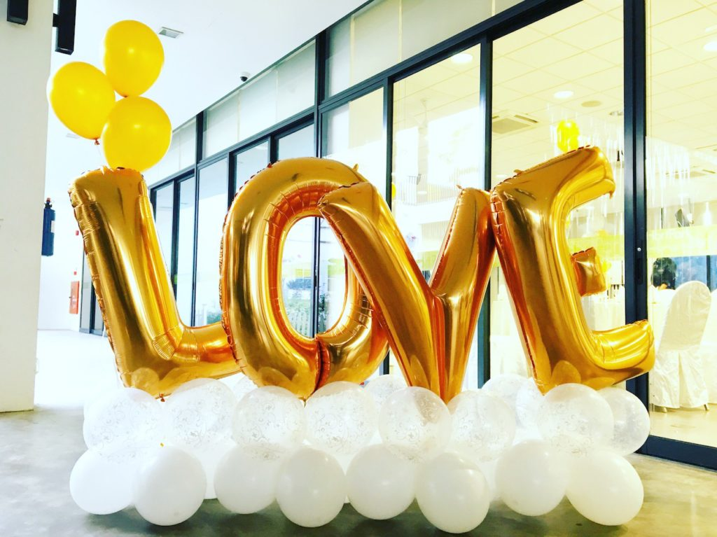 Wedding Balloon Photo Booth Decoration