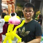 Balloon Giraffe Scupture Singapore