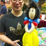 Balloon Snow White Sculpture