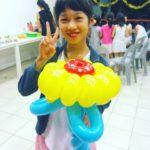 Balloon Sunflower Sculpture Singapore