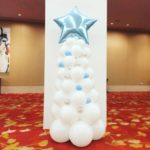Balloon Christmas Tree Blue Star 1