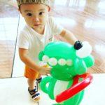 Balloon Dino Sculpture