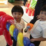 Balloon Machine Gun Sculptures