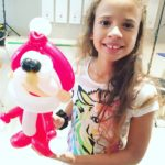 Balloon Santa Claus Sculpture copy