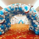 Christmas Balloon Tunnel