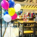 Helium Balloons Bundle in Restaurant