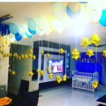 Helium Balloons on Ceiling Decoration