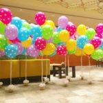Polka Dot Helium Balloon Bundles