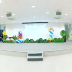 Stage Flower Balloon Decorations