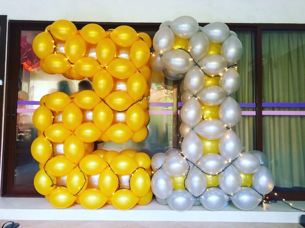 21 Balloon Number