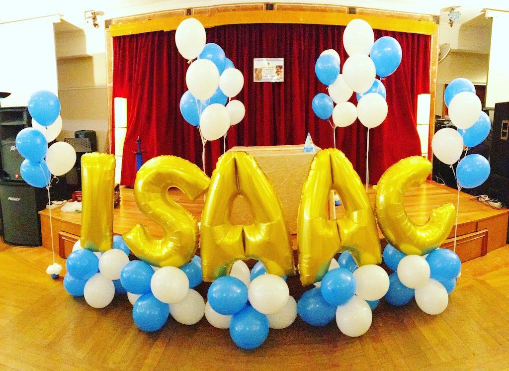 Balloon Foil Letter Name