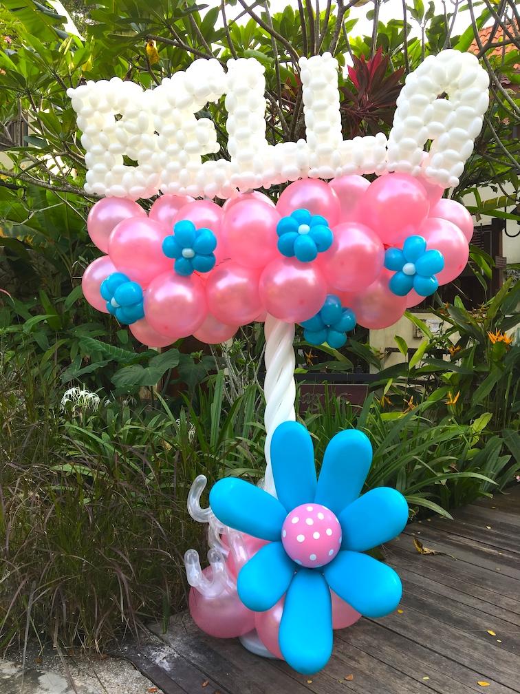 Balloon Name Column Design