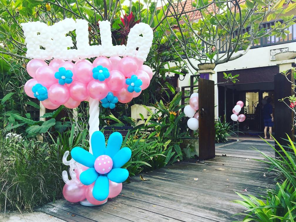 Balloon Name Display