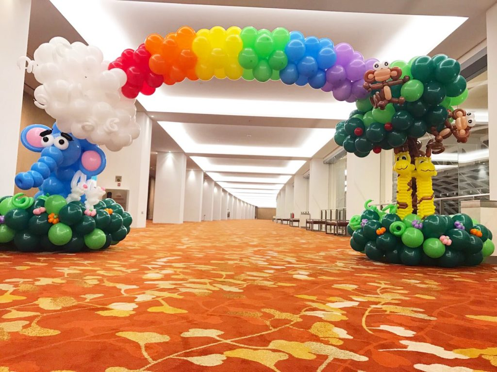 Balloon Animal Arch Decoration