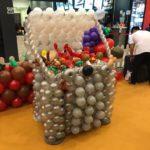 Balloon BBQ Pit Sculpture