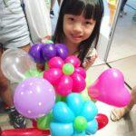 Balloon Bouquet of Flowers Sculpture