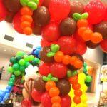 Balloon Carrot Sculptures