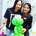 Balloon Frog Sculpture