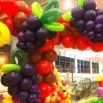 Balloon Grapes Sculpture