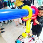 Balloon Machine Gun Sculpture