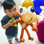 Balloon Monkey Sculpture
