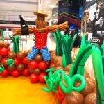 Balloon Scarecrow Sculpture