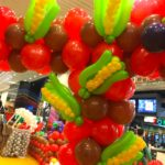 Balloon Sweet Corns Sculpture
