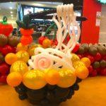Balloon Udon Ramen Noodle Sculpture