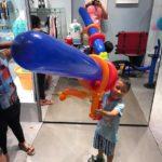 Giant balloon Machine Gun