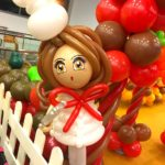 Lady Chef Balloon Sculpture