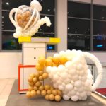 Large Balloon Teapot and Cup Sculpture