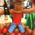 Scarecrow Balloon Sculpture
