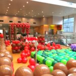 Shopping Mall Balloon Set up