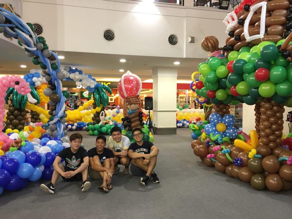 Balloon Artist in Singapore