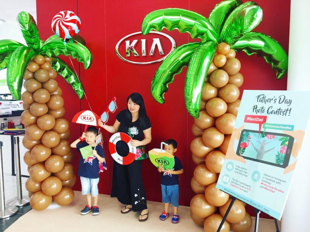 Balloon Coconut Tree Sculpture