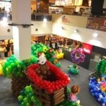 Balloon Decoration in Shopping Mall